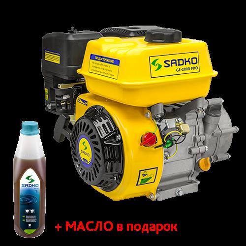 Двигатель бензиновый Sadko GE-200R PRO