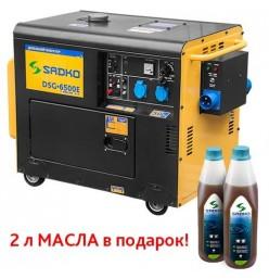 Генератор дизельный Sadko DSG-6500E ATS