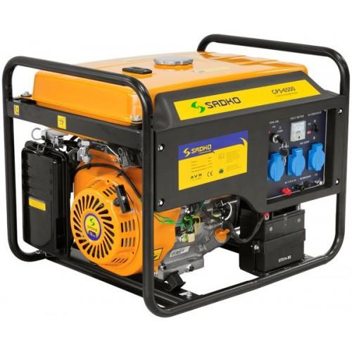 Бензиновый генератор daewoo gda 6500e 6500e