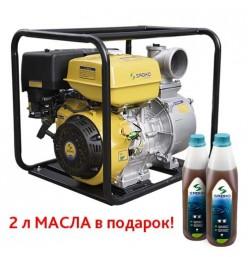 Мотопомпа Sadko WP-100S (120 м.куб/час, для чистой воды)