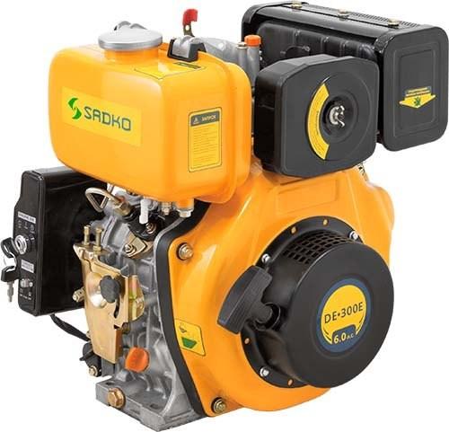 Двигатель дизельный Sadko DE-300E (повреждена упаковка)